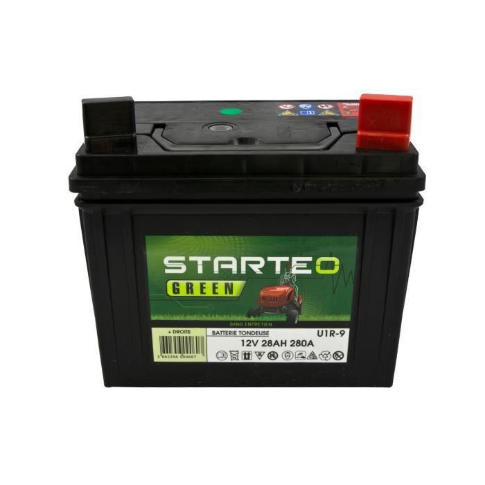 BATTERIE VÉHICULE Batterie tondeuse Green Battery U1R9 - 28AH 280A