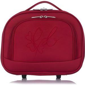 TROUSSE DE TOILETTE  LES P'TITES BOMBES Vanity Souple 18 cm ANNA Red