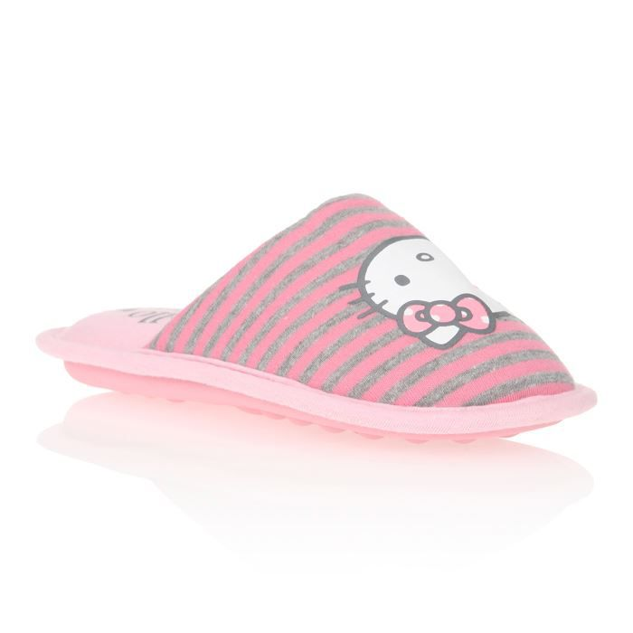 CHAUSSON - PANTOUFLE HELLO KITTY Chaussons Mules Vysoud Enfant Fille