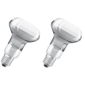 SPOTS - LIGNE DE SPOTS OSRAM Lot de 2 Ampoules Spot LED R63 E27 4,5 W équ