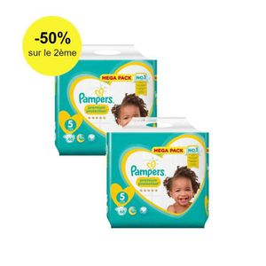 COUCHE Pampers Premium Protection Taille 5 - 11 à 16 kg,