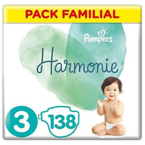 COUCHE PAMPERS Harmonie Taille3, 6 -10 kg, 138Couches (