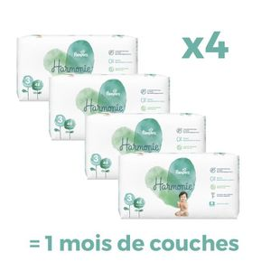 COUCHE PAMPERS Harmonie Taille3, 6 -10 kg, 184Couches -