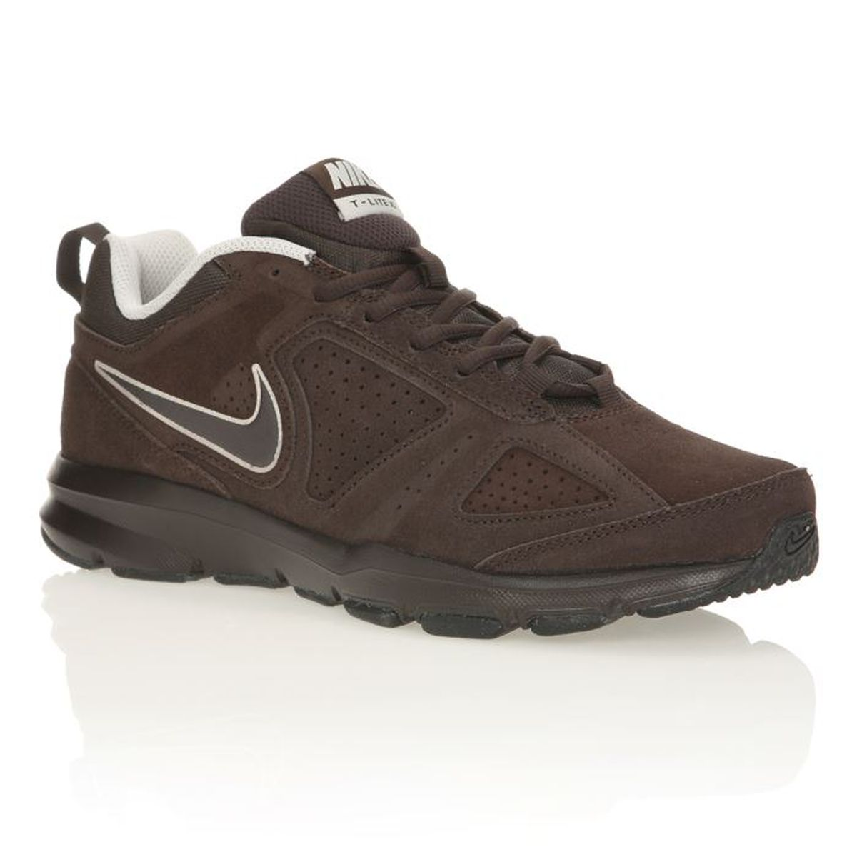 NIKE Chaussures sportswear T lite XI Homme Marron Achat