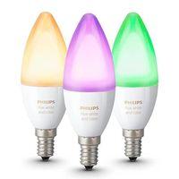 AMPOULE - LED Philips Hue 3 ampoules White Color E14