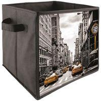 PANIER A LINGE Cube Panier De Rangement Pliable Déco USA New York