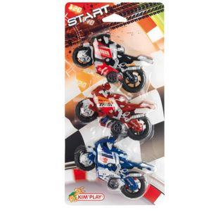 KIMPLAY Moto de course x3