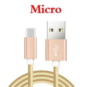 CÂBLE TÉLÉPHONE [2 M] Câble Micro USB Pour Asus Zenfone Go ZB552KL