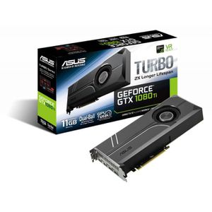 CARTE GRAPHIQUE INTERNE ASUS GeForce GTX 1080 Ti Turbo 11G, 11264 MB GDDR5