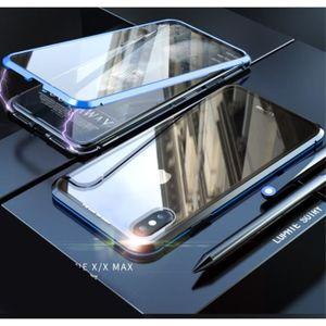 iphone xs max coque apple manietique
