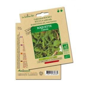 GRAINE - SEMENCE Roquette - Semences bio Agrosemens