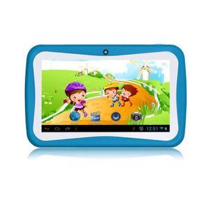TABLETTE ENFANT bleu 7'' tablette tactile pour enfant Quad-Core 1.