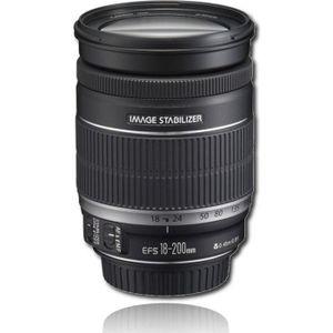 OBJECTIF CANON EF-S 18-200 Objectif photo pour appareil pho