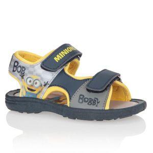 Chaussures Jaune Et Garçon Gris Minions Bébé Sandales Enfant 2HIWDE9Y