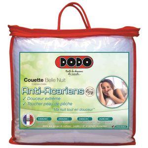 COUETTE DODO Couette chaude 350gr/m² BELLE NUIT 200x200cm