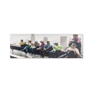 TABLEAU - TOILE Tableau déco pont NY - couleur 90x30x3 cm