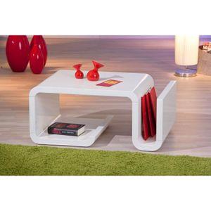 TABLE D'APPOINT Table basse table de salon design moderne avec ran
