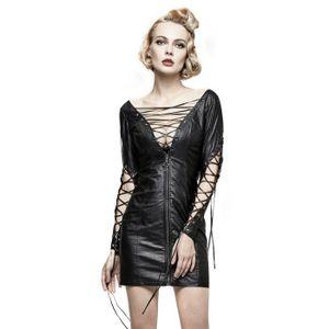 2fe988769ef728 Robe noire decollete dos - Achat / Vente pas cher