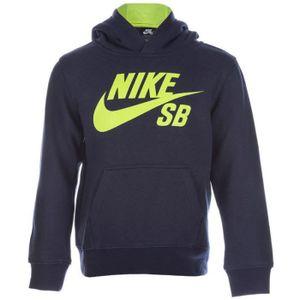 SWEATSHIRT Sweat à capuche Logo Fleece Marine Garçon Nike