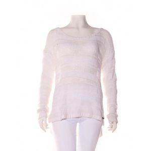 PULL Pull ABERCROMBIE & FITCH 36 Blanc