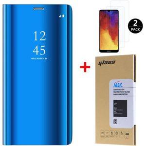 HOUSSE - ÉTUI Coque Huawei Y6 2019 + [2 Pack] Verre trempé, Miro