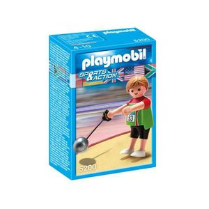 FIGURINE - PERSONNAGE Playmobil Lanceur De Marteau