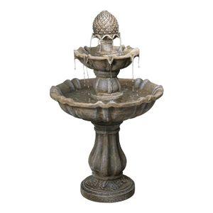 Fontaine de jardin en pierre achat vente fontaine de for Jardin 2 niveaux