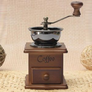 MOULIN À CAFÉ Mini Main Moulin Broyeur Café /Cafetière Machine M