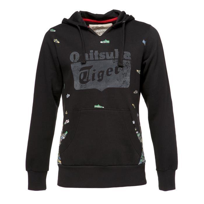 Onitsuka Tiger Asics Mens Jersey capuche bleu [xl] 3iH2v