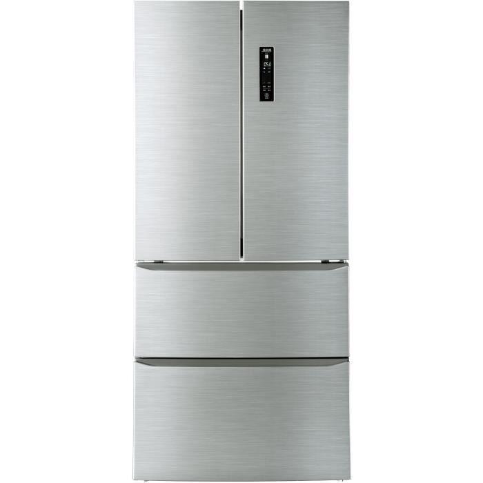 CANDY - CMDN182EU - Réfrigérateur Multi-portes French Door - 408L (274L + 134L) - Total No Frost -A+
