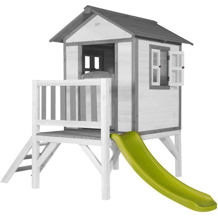 SUNNY Maisonnette Enfant Cabane en bois Lodge XL