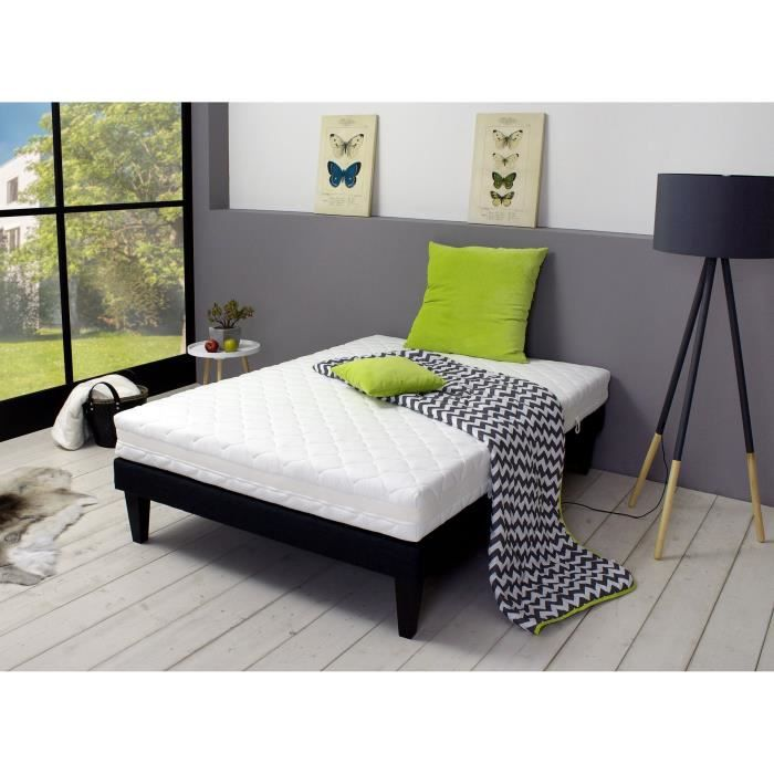 prot ge matelas 2 personnes 160x200 cm confort bien etre vendu par conforama 160. Black Bedroom Furniture Sets. Home Design Ideas