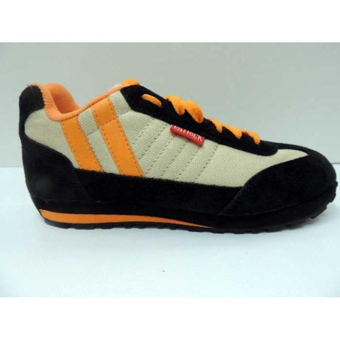 Chaussure Textile/Cuir Basse Vintage Patrick Marathon Femme Pointure 38