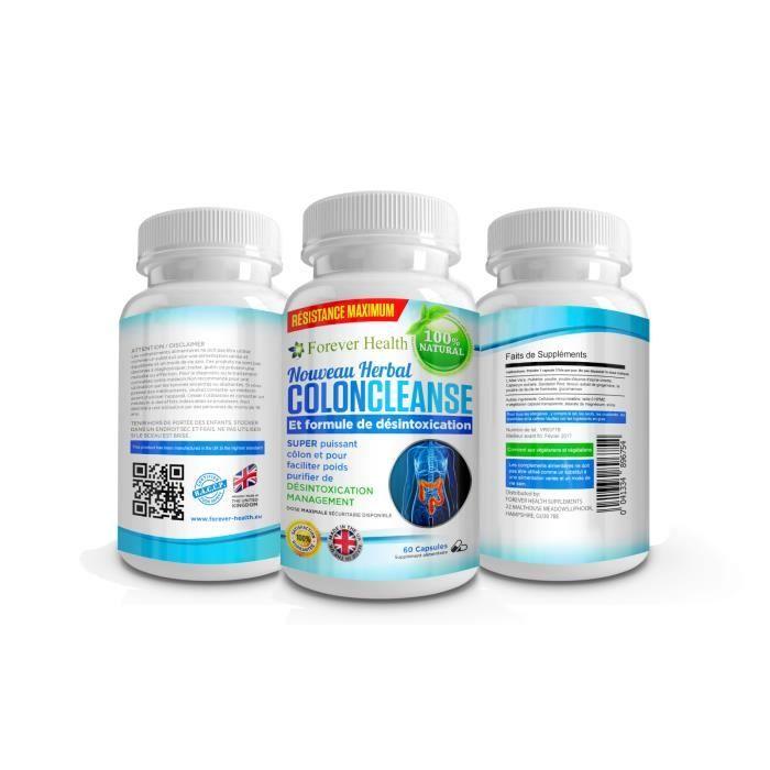 DIGESTION - TRANSIT  Forever Health Colon Cleanser - 100 comprimés à ba