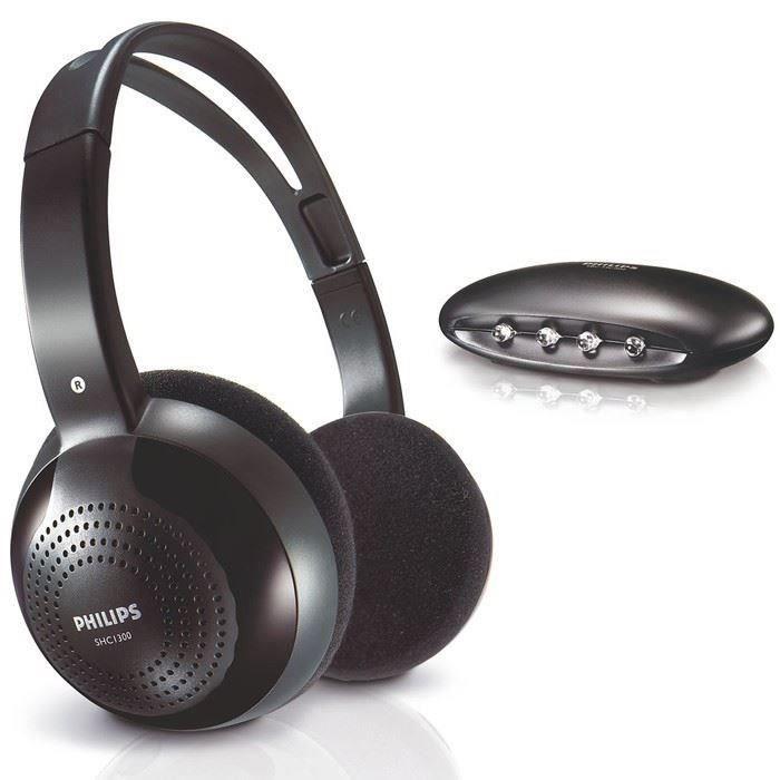 Philips Shc1200 Casque Sans Fil Noir Casque écouteurs Avis Et
