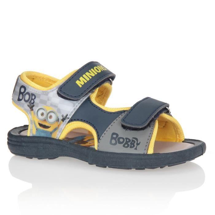 747963fc69e2c SANDALE - NU-PIEDS MINIONS Sandales Chaussures Bébé et Enfant Garçon