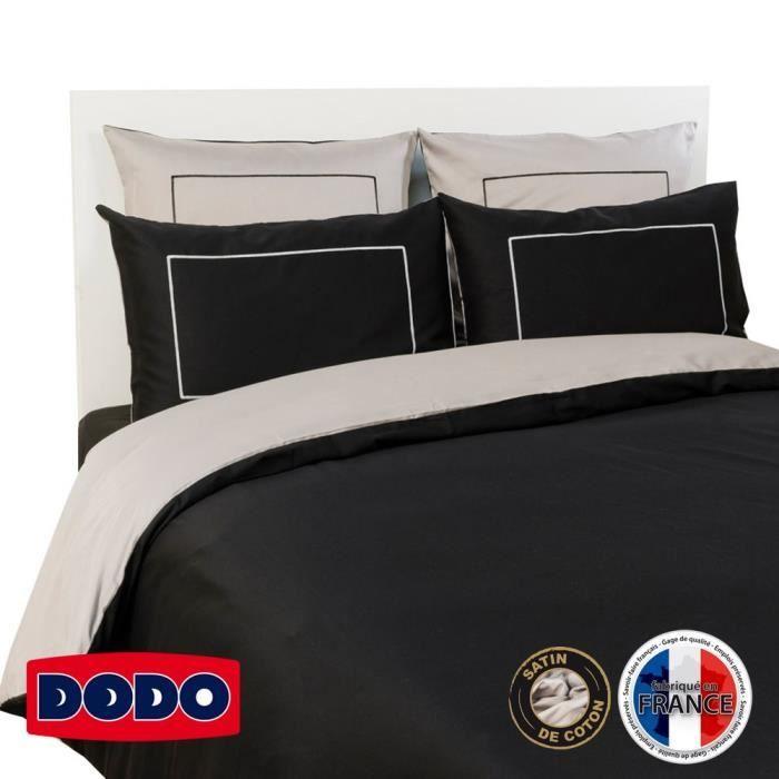 housse de couette 200x200 gris noir achat vente housse de couette 200x200 gris noir pas cher. Black Bedroom Furniture Sets. Home Design Ideas