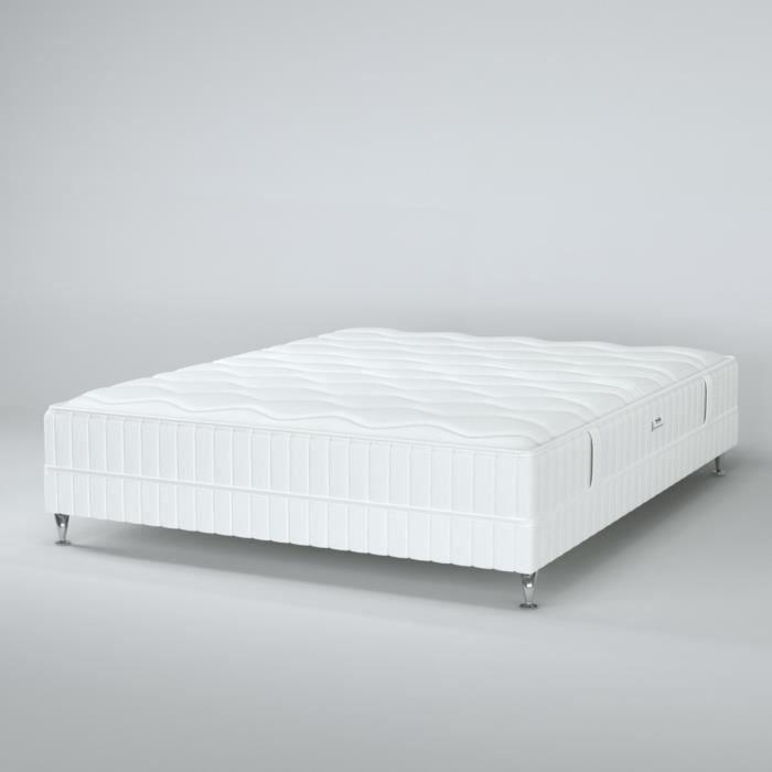 simmons ensemble matelas sommier 160 x 200 ressorts 23 cm ferme paradis achat. Black Bedroom Furniture Sets. Home Design Ideas