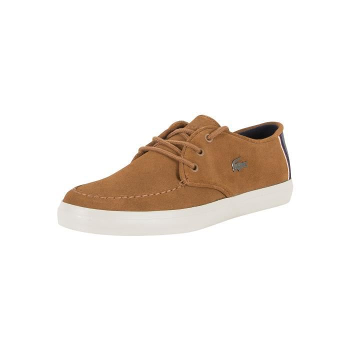 Lacoste Homme Sevrin 317 Cam Trainers, Marron