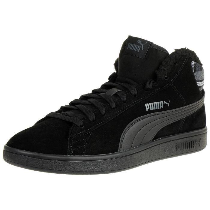 Smash 366810 Wtr Puma 01 Mid V2 Unisexe Noir Sneaker wN8Pn0OXk