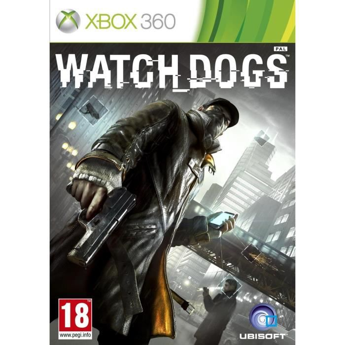 watch dogs import allemand jeu xbox 360 achat. Black Bedroom Furniture Sets. Home Design Ideas