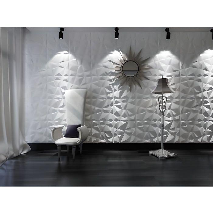panneau mural 3d angly peindre pack de 3m achat. Black Bedroom Furniture Sets. Home Design Ideas