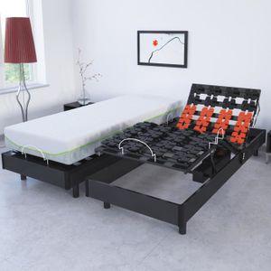 sommier electrique a plot achat vente pas cher. Black Bedroom Furniture Sets. Home Design Ideas