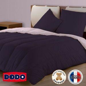 couette reversible bicolore achat vente couette reversible bicolore pas cher cdiscount. Black Bedroom Furniture Sets. Home Design Ideas
