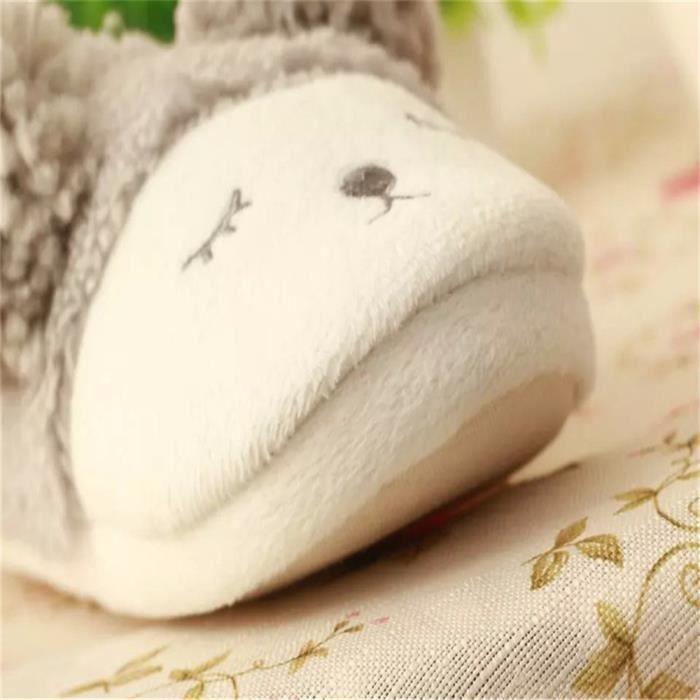 Mixte chausson hiver ameublement de maison des pantoufles chaussure Femmes et Hommes marque de luxe pantoufledssx016blanc44