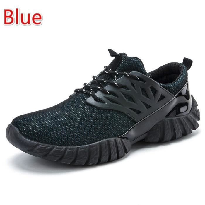 JOZSI Baskets Homme Chaussure hiver Jogging Sport Ultra Léger Respirant Chaussures HZ-XZ228Rouge40 XAwF5Uhd