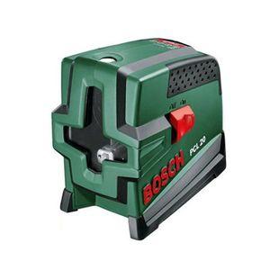 BOSCH Niveau laser lignes + trépied PCL 20 Jeu