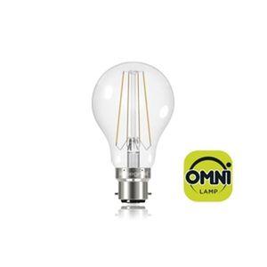 INTEGRAL LED Ampoule B22 filament 806lm 6W équivalent ? 60W