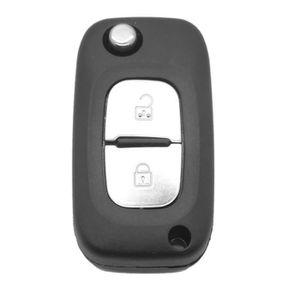 Coque de clé compatible Renault 2 boutons