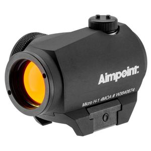 JUMELLE OPTIQUE Point rouge Aimpoint micro H1 4MOA